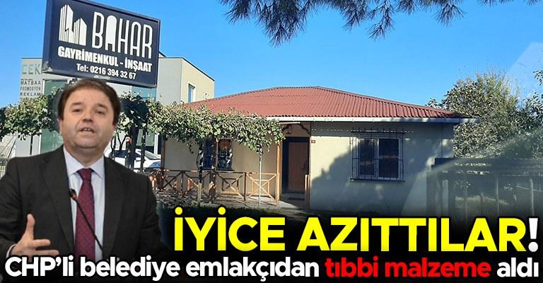 CHP'li belediye dev tıbbi malzeme ihalesini gizemli emlak şirketine verdi