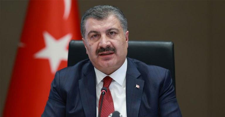 """Sağlık Bakanı: """"Gençlerimiz aşı olmalı, büyüklerimiz dikkatli davranmalı"""""""