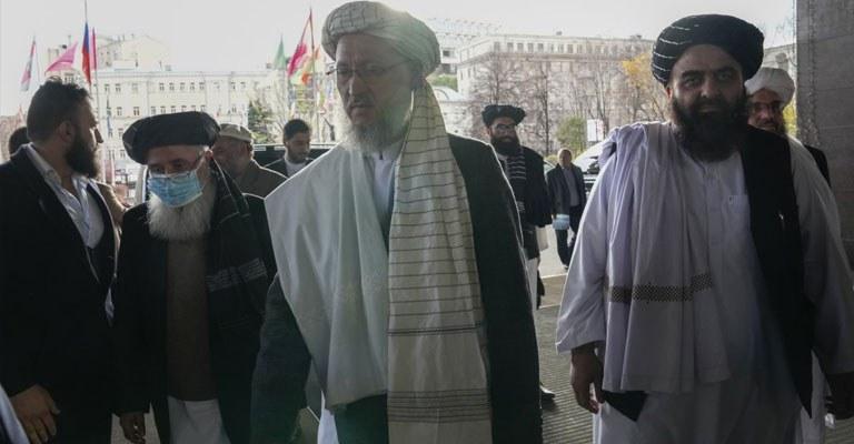 Taliban heyeti Afganistan görüşmeleri için Moskova'da