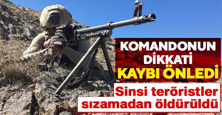 Barış Pınarı bölgesinde hareketlilik! 2 terörist öldürüldü